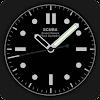 Scuba Diver Watch Face