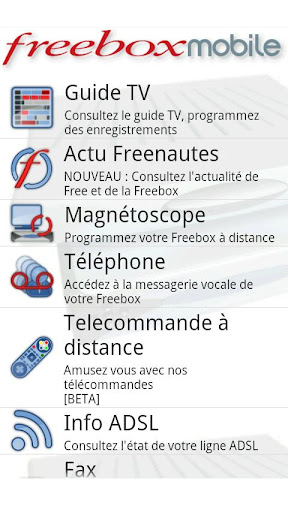 freebox guide des applications android pour freenautes frandroid. Black Bedroom Furniture Sets. Home Design Ideas