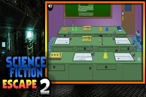 Science Fiction Escape 2 - screenshot