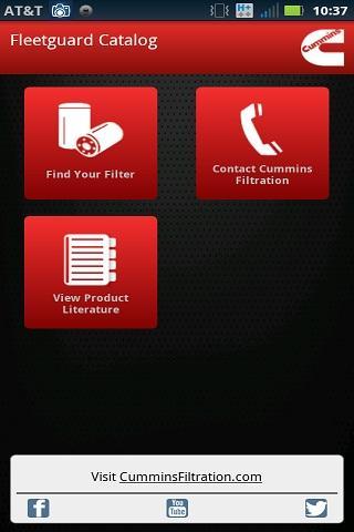 康明斯滤清系统 弗列加产品目录