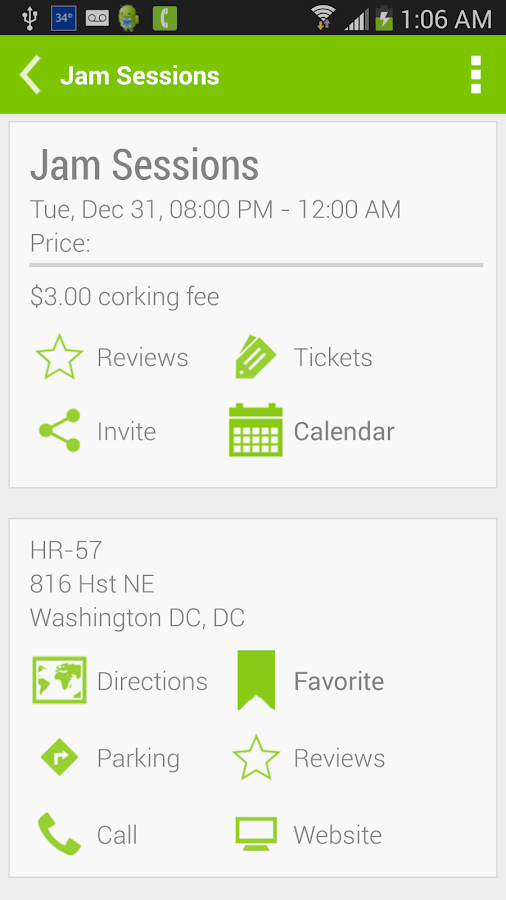 Got Eventz Washington DC - screenshot
