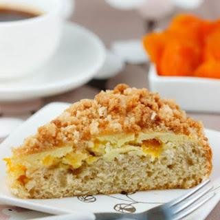 Apricot Crumb Coffee Cake Recipe