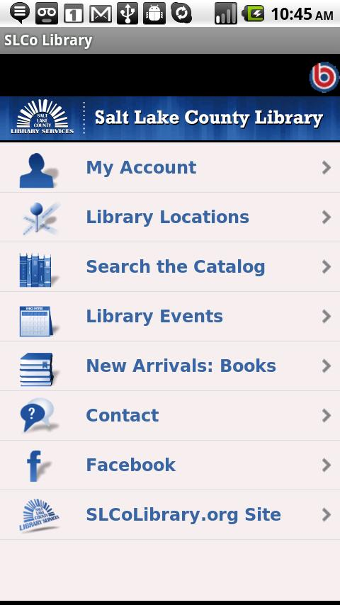 SLCo Library - screenshot