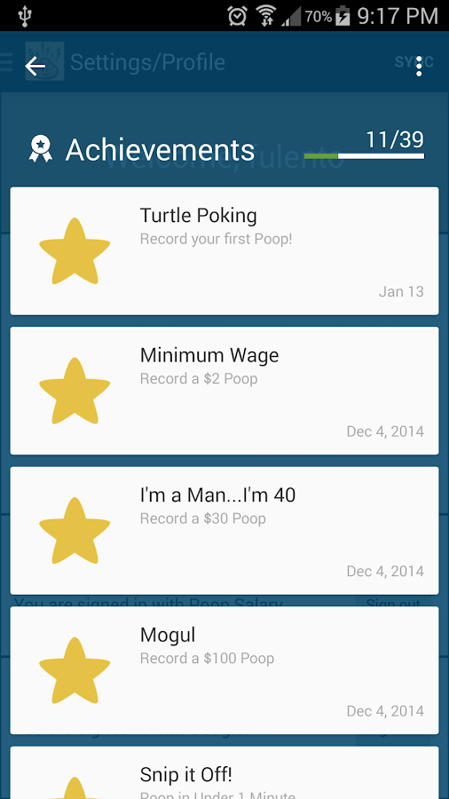 Poop Salary – Screenshot