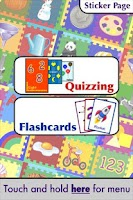 Screenshot of Quizzing Toddler Preschool
