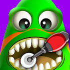 Crazy Alien Dentist kids Game icon