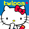 HELLO KITTY twippa logo