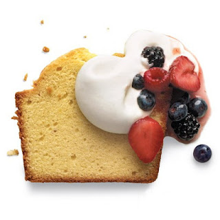 Classic Pound Cake Topping.