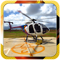 3D Helicopter flight  Jigsaw icon