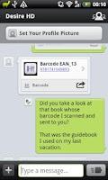 Screenshot of Barcode Kicker