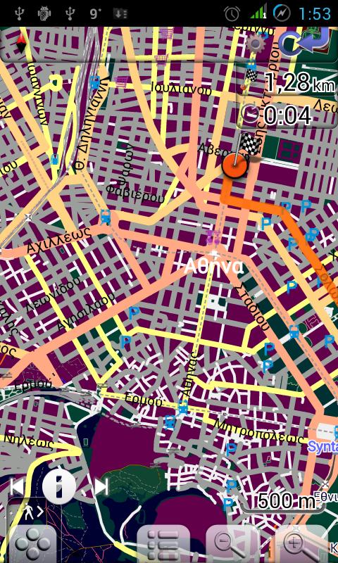 Map of Greece - screenshot