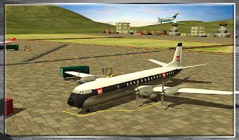 Screenshot of Classic Transport Plane 3D