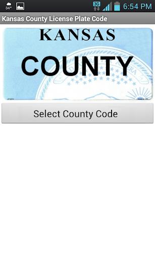 Kansas County Code Tool