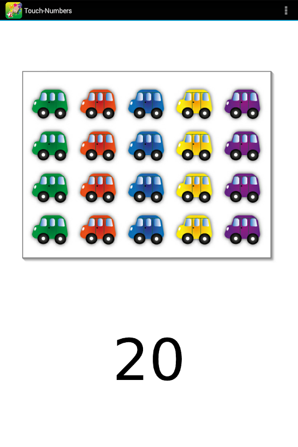 Touch-Numbers- screenshot