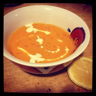 Rejuvenating Pure Carrot Soup.