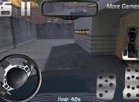 Screenshot of Police car parking 3D HD