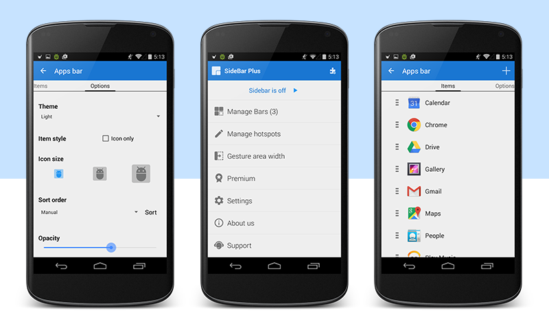 Sidebar Plus (Multi-bars) - screenshot