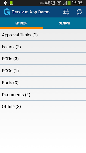 Genovia -App to access ENOVIA™
