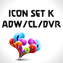 Icon Set K ADW/Circle Laun/DVR logo