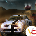 3D desert race icon