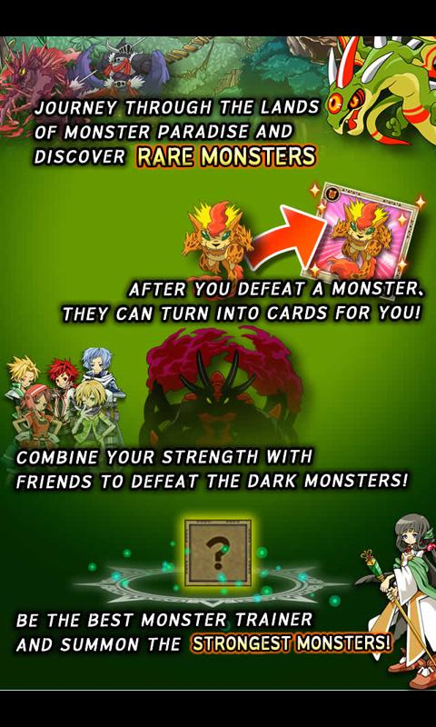 Monster Paradise - Card Battle - screenshot