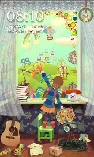 Colorful World Locker Theme