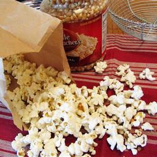 Gourmet Microwave Popcorn.