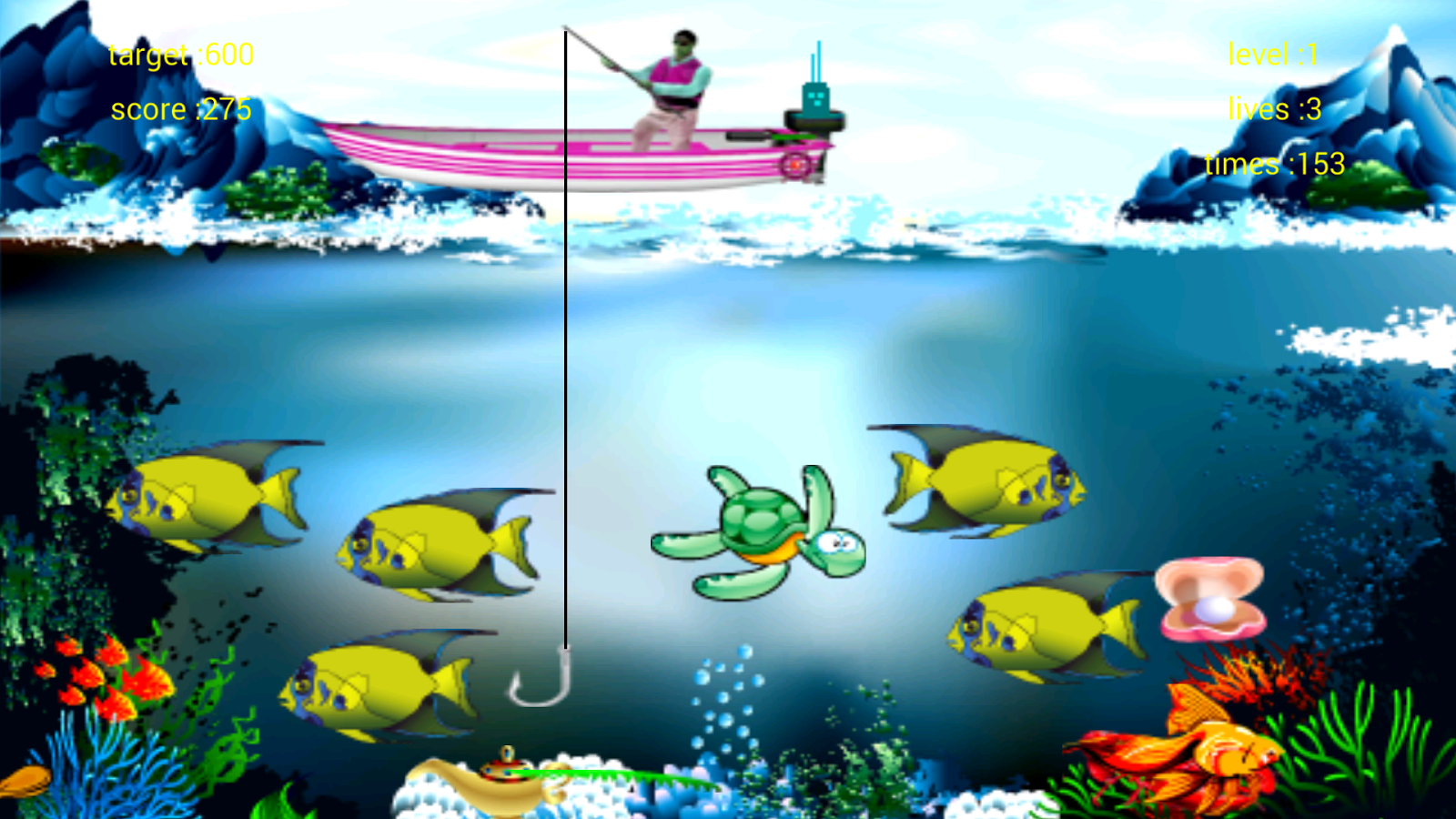 Fishing game android apps on google play for Fishing game android