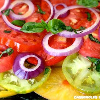 Multicolor Tomato Salad.