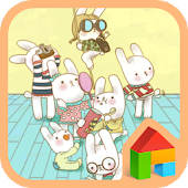 Family dodol launcher theme