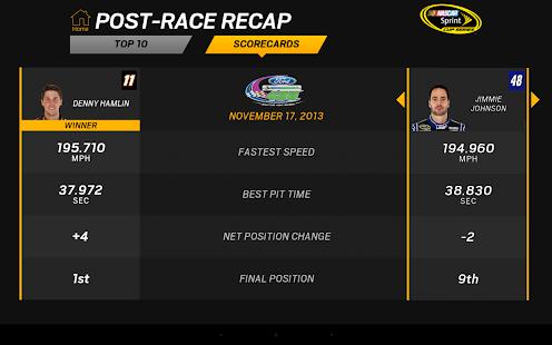 NASCAR RACEVIEW MOBILE Screenshot 20