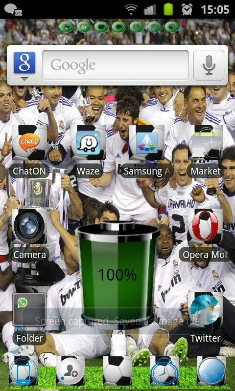 RealMadrid GO Launcher Free - screenshot