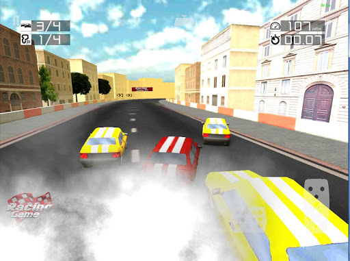 3D Speed Racing Game