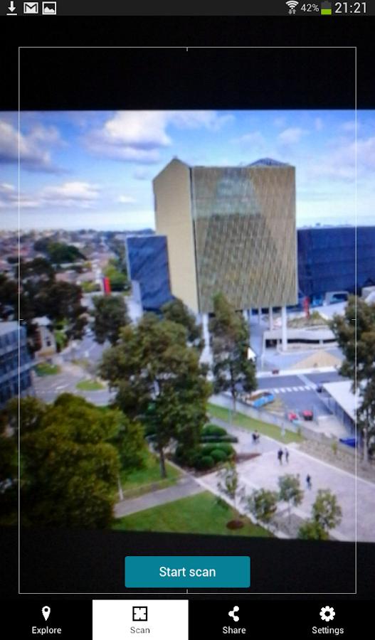 DeakinAR - screenshot
