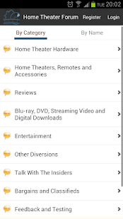 Home Theater Forum - screenshot thumbnail