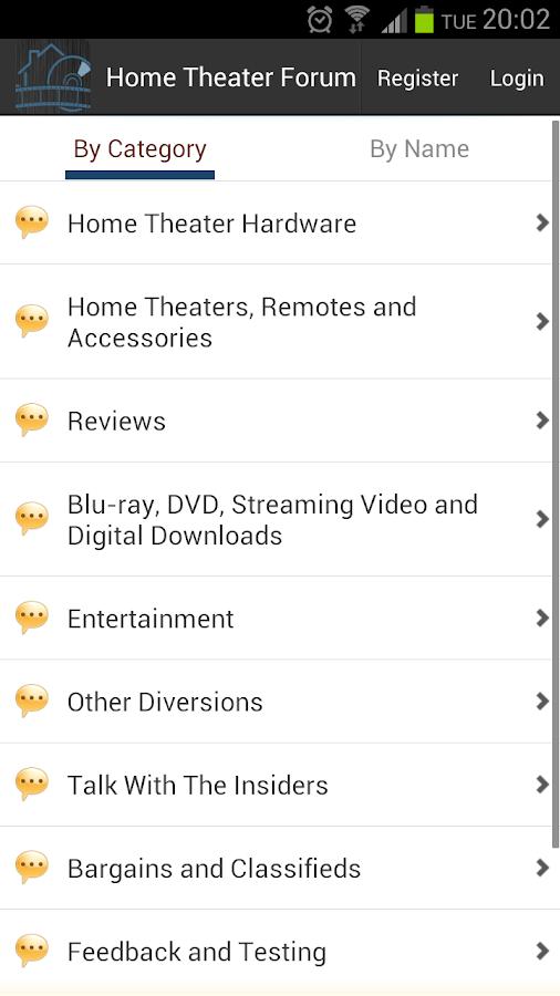 Home Theater Forum- screenshot