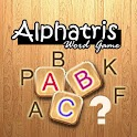 Alphatris Free word game logo