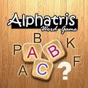 Alphatris Free word game logo