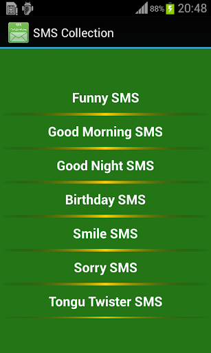 English SMS Collection