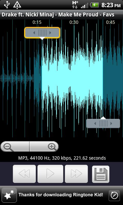 Ringtone Kid (Ringtone Maker!)- screenshot