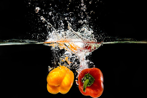 Twin Pepper by William Ay-Ay - Food & Drink Fruits & Vegetables