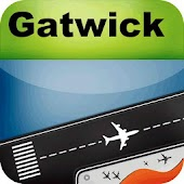 London Gatwick Airport + Radar