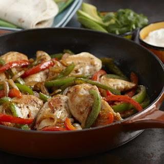 Chicken Fajitas.