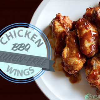 Honey BBQ Chicken Wings (Gluten-free).