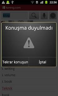 Tureng Sözlük - screenshot thumbnail