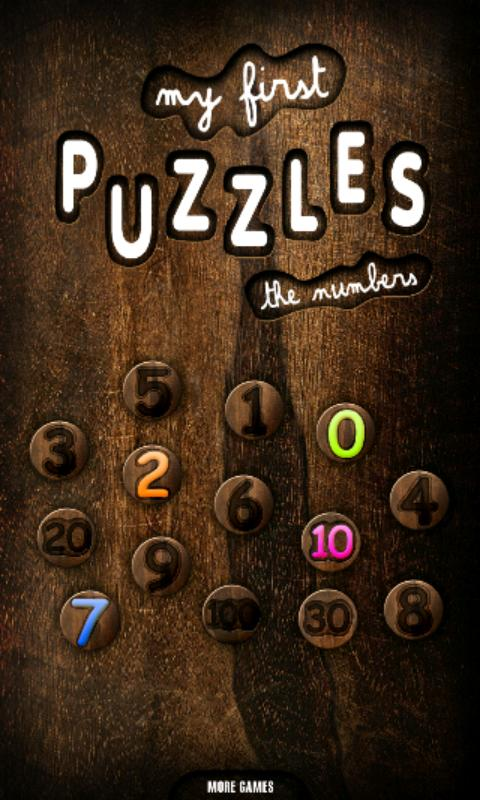 My First Kids Puzzles: Numbers- screenshot