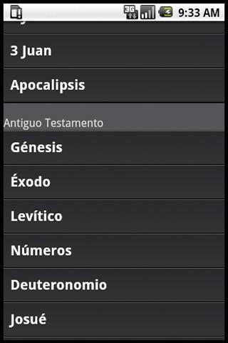 Biblia (Español) - screenshot