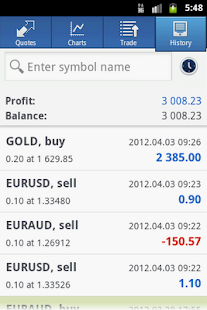 MetaTrader 4 - screenshot thumbnail