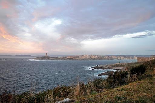 Vigo-landscape-Spain - Visitors will revel in breathtaking seascapes on the Island of Vigo, Spain, in the Galicia region.