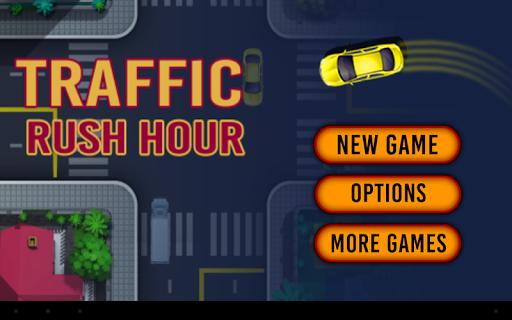 Traffic Rush Crossing Cars